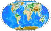 Географическая карта мира с координатами