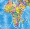 Географическая карта Африки